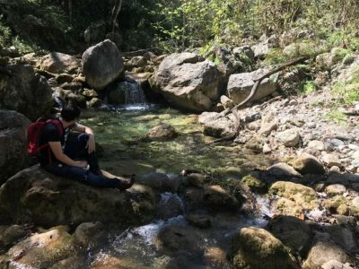 Hiking through La Estanzuela Park 7 hours