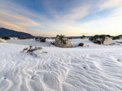 Guided tour of Dunas del Yeso from Monterrey