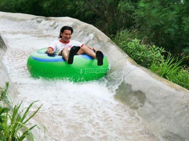 Maximum fun in the water