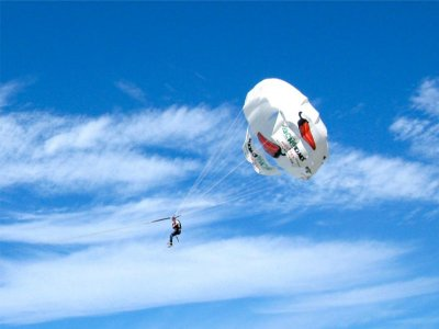Vuelo en parasailing en Puerto Vallarta 20 minutos