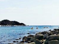 Kayak and snorkel tour in Huatulco Bay
