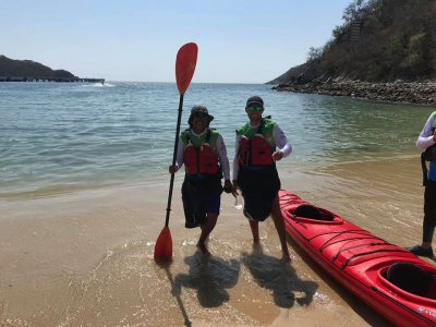 Kayak expedition to Huatulco bays 10 hours