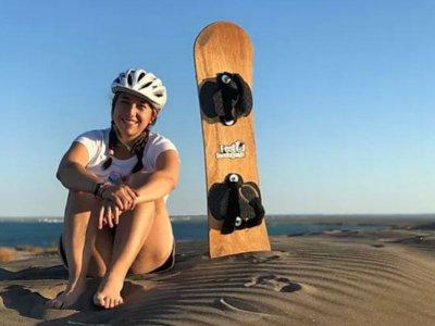 Sandboard in Dunas Bahía de La Paz 3.5 hours
