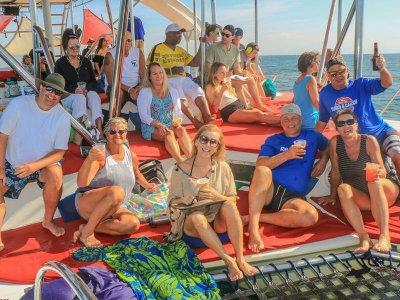 Trimaran trip All-Inclusive in Yelapa Bay