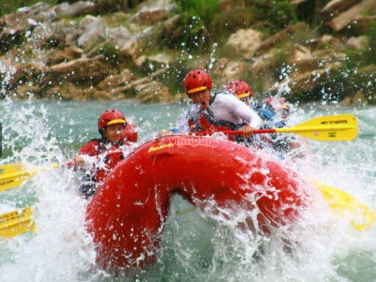 Rafting in Río Micos