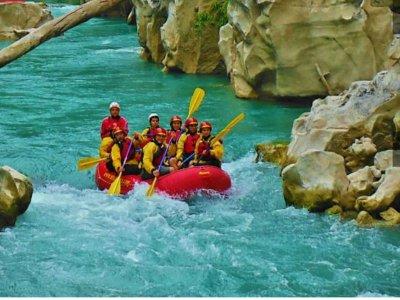 Rafting Clase II y comida en Huasteca Potosina 7hr