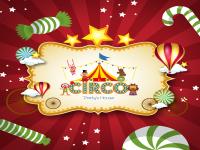 Logo circus party room