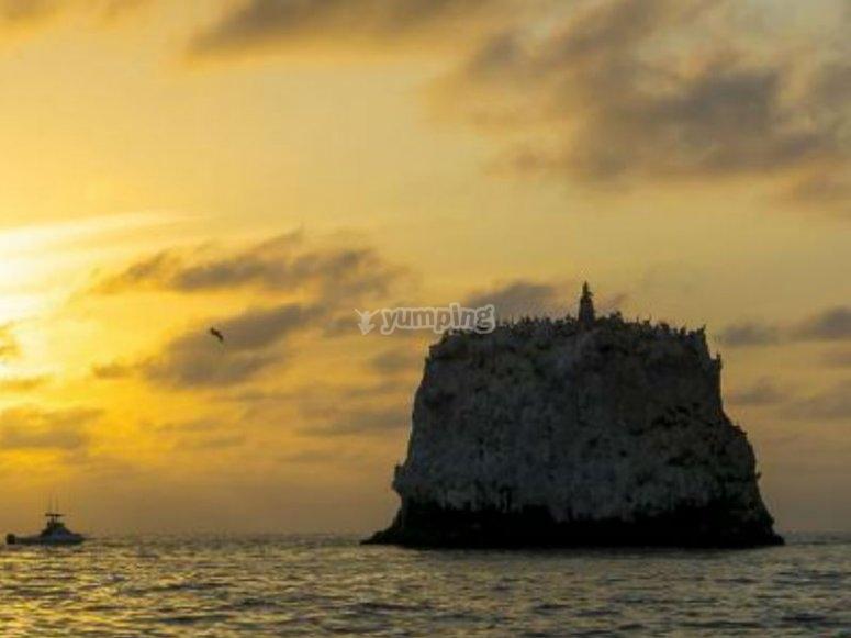 Atardeceres en la bahía de San Blas