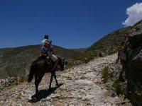 Paseando a caballo