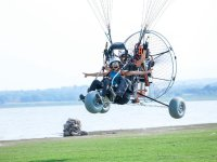 Experience in hang gliding
