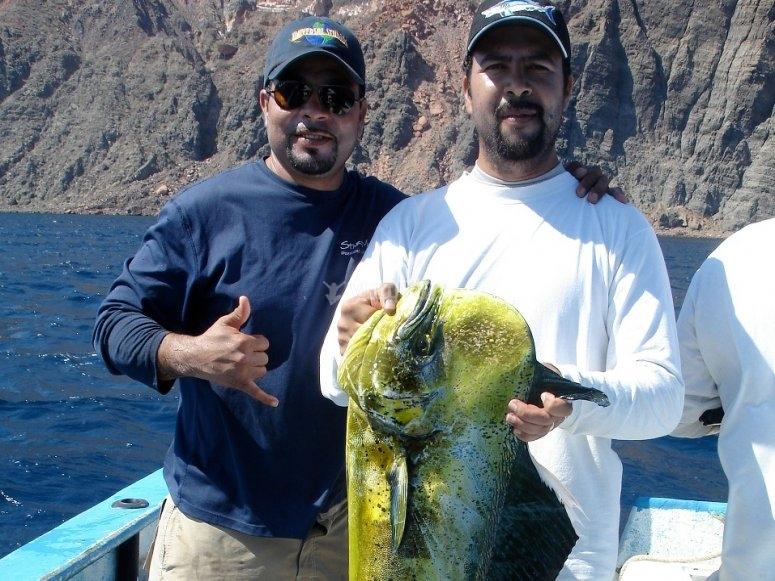 Día de pesca en La Paz