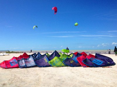 Kitesurf equipment rental in Progreso 1 hour