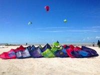 Kitesurf equipment rental