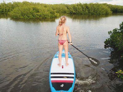 Standup Paddle Lagoon Mangrove Progress Tour