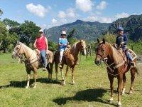 Horseback Riding through Tepoztlán