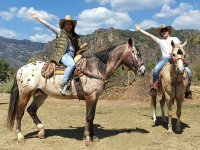 Unforgettable horseback riding experience