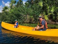 Discover beautiful corners in your canoe