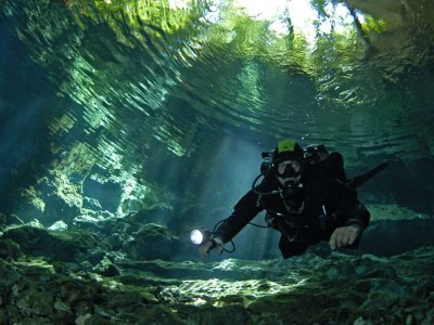 Diving in Cenotes and Caverns Riviera Maya 4 hours