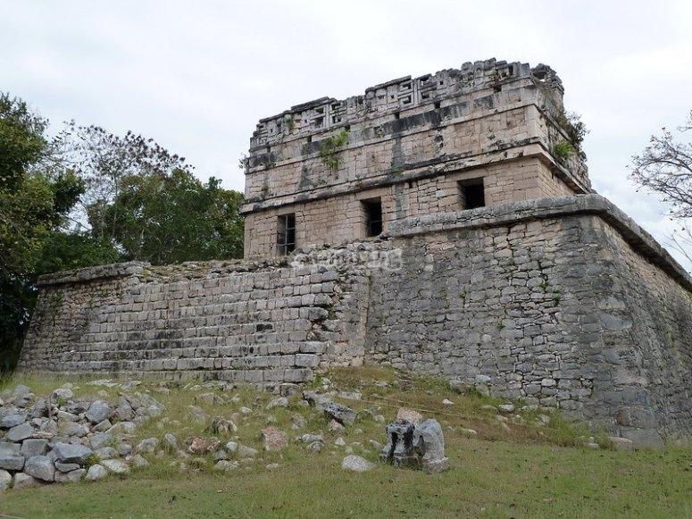 Ciudad maya de Chichen Itzá