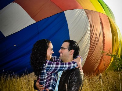 Private balloon for ring delivery Montemorelos