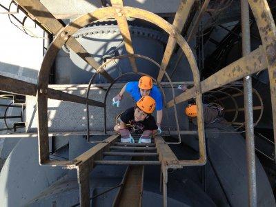 Circuito canopy en el Museo del Acero en Monterrey