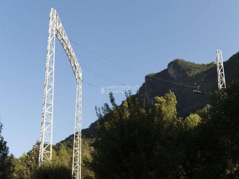 Columpio gigante en Nuevo León