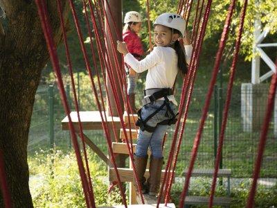 Circuito Canopy y Eurobungy para niños en Santiago