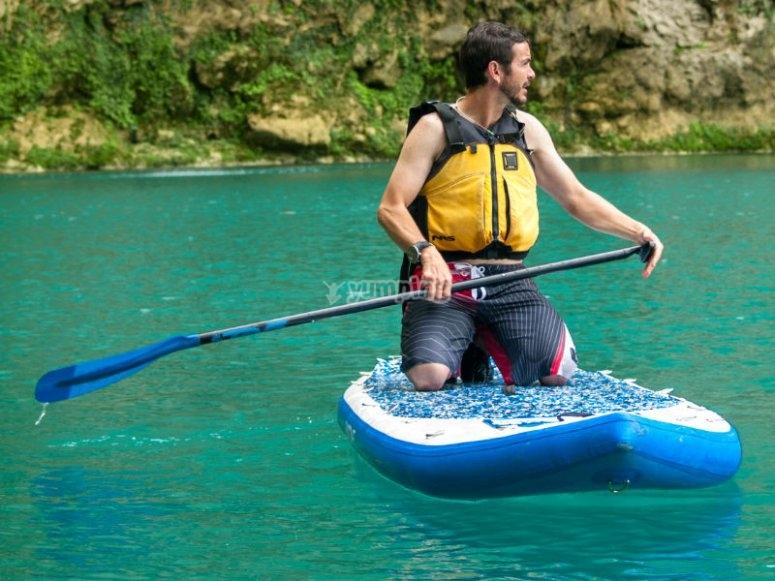 Ven a divertirte haciendo Stand up paddle