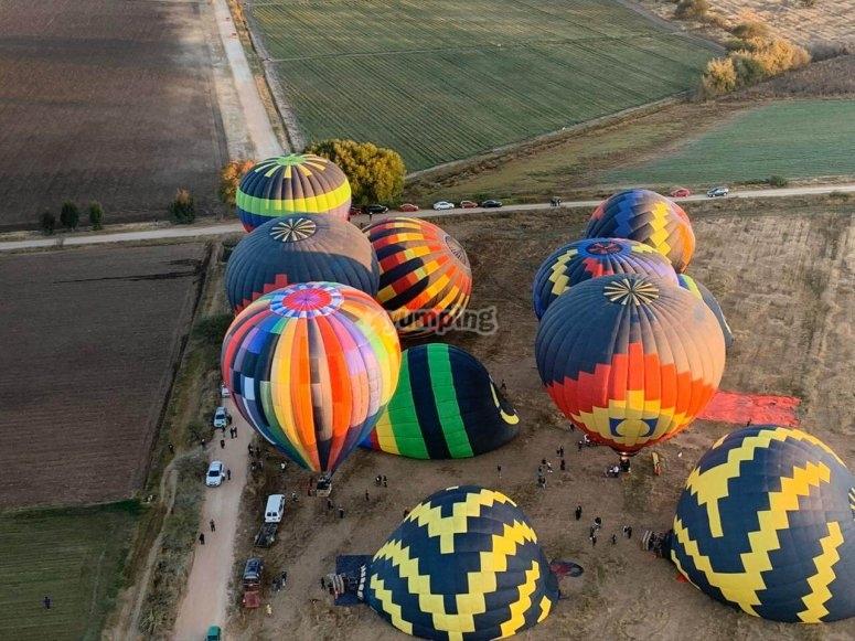 Balloons in Tequisquiapan