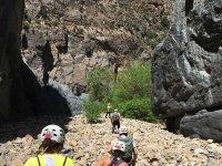 Hike towards the canyon