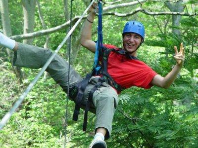 Jalcomulco zipline adventure for 1.5 hours