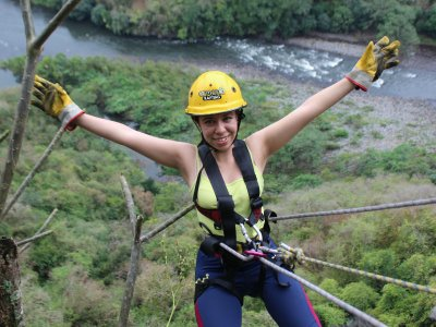Mountain rappel in Jalcomulco 2 h