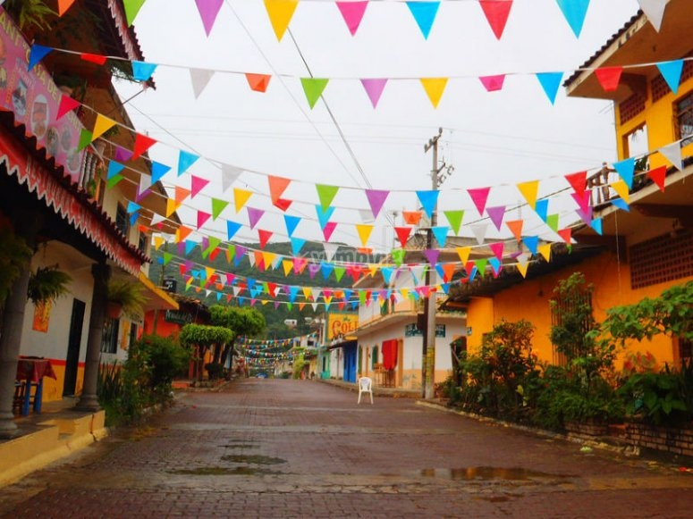 Live the colors of Jalcomulco