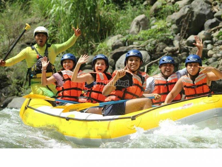 Descenso en el Río Antigua