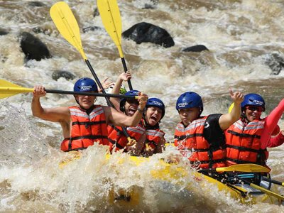 Rafting and Zipline in Jalcomulco 5 hours