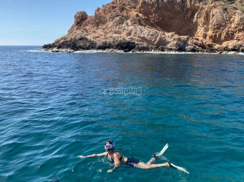 Permite que descubran las maravillosas aguas del Mar de Cortés