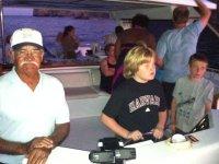 Los niños disfrutarán de un gran paseo en barco