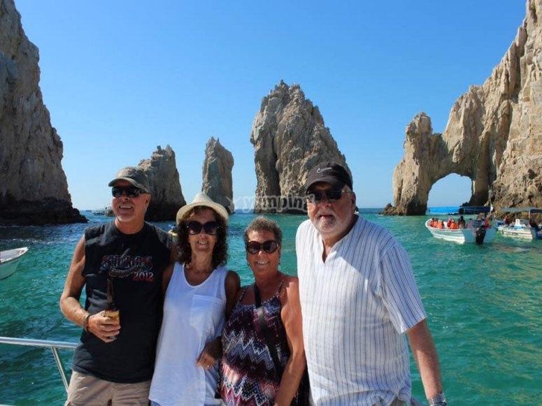Disfruta de este paseo en barco con amigos o familia