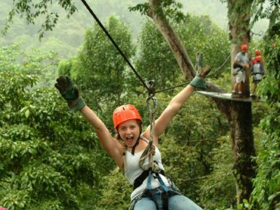 Zipline adventure in the Sierra de Tacotalpa 1 h