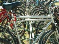 Preparing bicycles