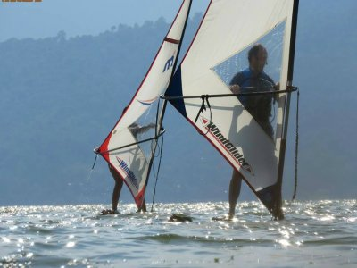 Windsurf course 24 hours in Valle de Bravo