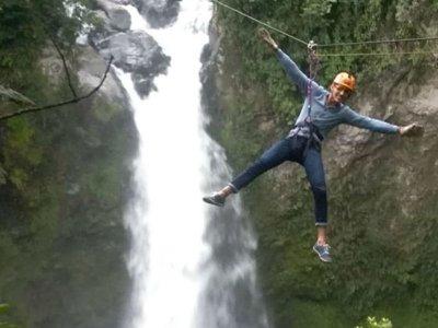 Zipline 250 meters in Xico 3 hours