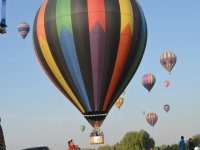 Balloon flight at the festival