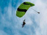 Impressive landscapes at your feet when you skydive