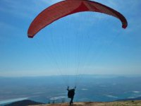 Enjoy the flight in your paraglider