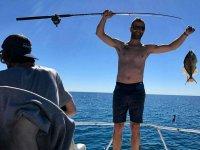 Pesca recreativa con comida en Mar de Cortés 5 h