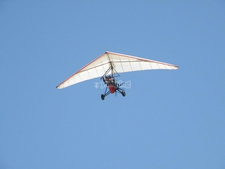 Flying in an ultralight
