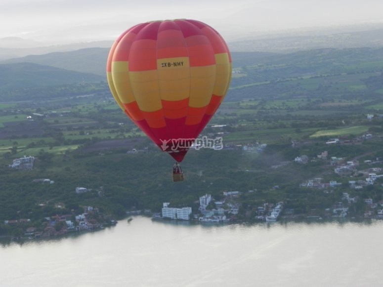Traveling in a balloon