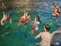 Snorkel en la bahia