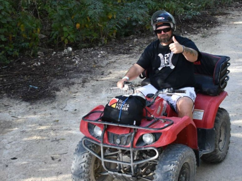 Great experience when driving your ATV
